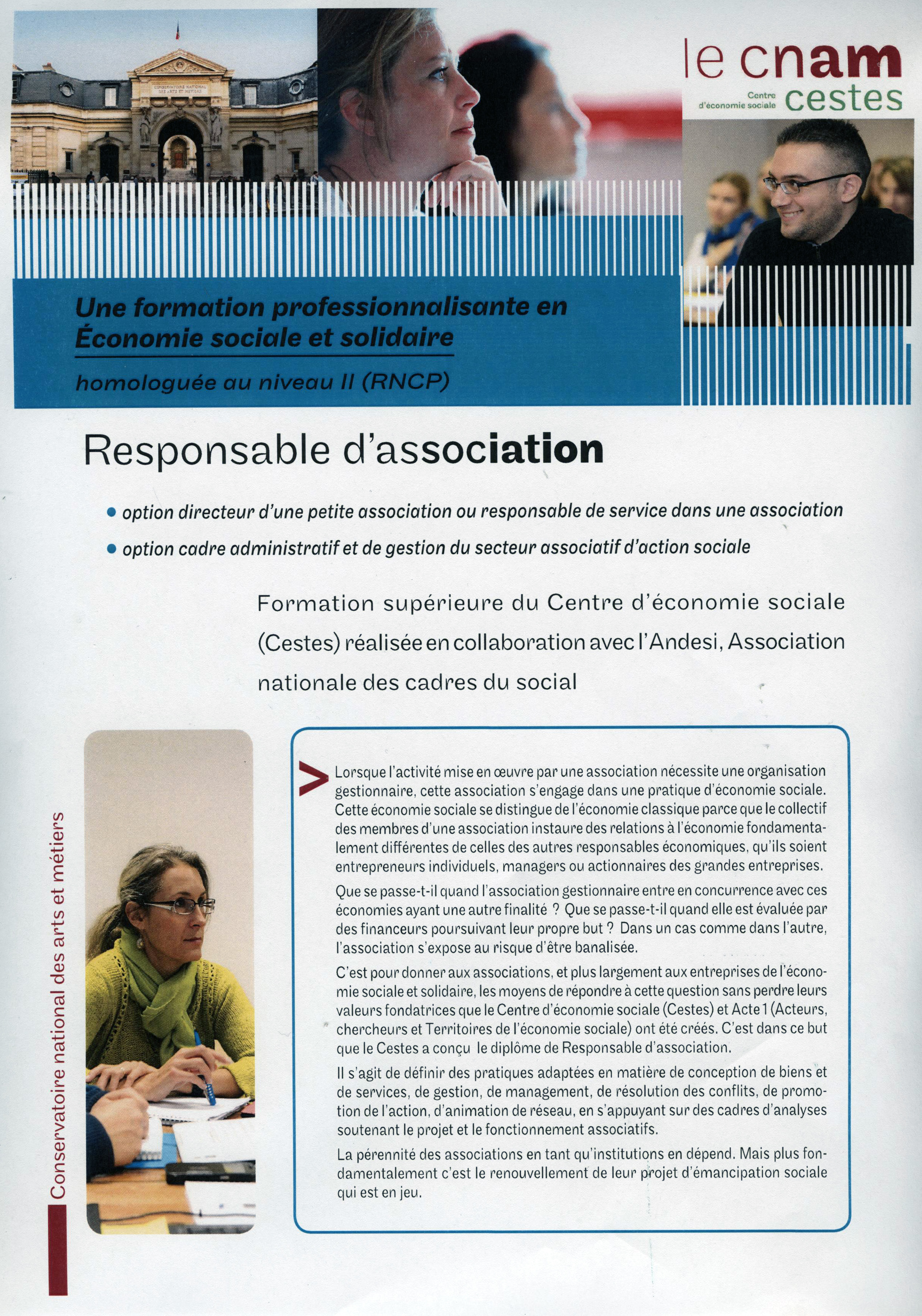 plaquette d'information Responsable